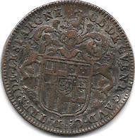 *   RARE Jeton Sous Louis XIV Noblesse Claude De Guenegaud Martel - Sonstige