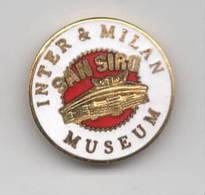 Pins Inter & Milan Museum Calcio Stadio San Siro Distintivi FootBall Soccer Spilla Italy - Calcio