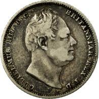 Monnaie, Grande-Bretagne, William IV, 6 Pence, 1831, TB+, Argent, KM:712 - 1816-1901: 19. Jh.