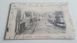 *DOEL  De Kerkstraat - La Rue De L'Eglise  Animée Oblitéré En 1902 - Belgique
