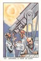 PIE-T-19-953 : CHOCOLAT FONDANT ET A CROQUER. COOP. VOYAGES INTERPLANETAIRES. TELESCOPE. - Chromos