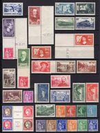 France 1937 Année Complète N** Yvert Du N°334 Au N°371 - France