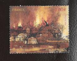 TIMBRE FRANCE OBLITERATION RONDE ..  LA FETE DU TIMBRE 2012...JEROME BOSCH..N°4689... - France
