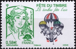 FRANCE 4809 ** MNH Marianne De Ciappa Et Kawena Fête Du Timbre 2013 Le Timbre Fête L'air Luft - 2013-... Marianne De Ciappa-Kawena
