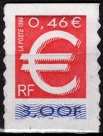 FRANCE Adhésif 24 ** MNH La Monnaie Euro Symbole - Adhésifs (autocollants)