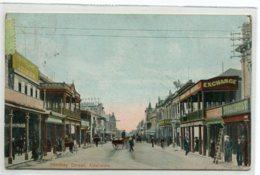 AUSTRALIE ADELAIDE Hindley Street Commerces Animation écrite Timbrée 1907     D01 2019 - Adelaide