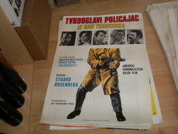 Tvrdoglavi Policajac Iz San Franciska Walter Matthau, Bruce Dern, Lou Gossett - Posters