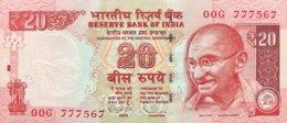 India 20 Rupees, P-103f (2013) - UNC - Indien