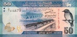 Sri Lanka 50 Rupees, P-124a (1.1.2010) - UNC - Sri Lanka