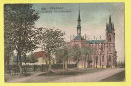 * Melsele (Beveren Waas - Oost Vlaanderen) * (PIB - P.I.B.) Gedenkenis Uit Gaverland, Kleur, Couleur, église, Kerk, Rare - Beveren-Waas