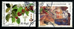 NOUV.-CALEDONIE 2002 - Yv. 869 Et 870 Obl.   Cote= 2,40 EUR - Caféier & Usine, Torréfacteur (2 Val.)  ..Réf.NCE24540 - Usados
