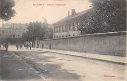 BACCARAT FRANCE~HOPITAL TEMPORAIRE-PHOTO POSTCARD 1918 FROM U.S WW1 SOLDIER 39235 - Baccarat