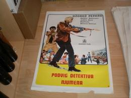 Podvig Detektiva Njumena Dzordz Pepard Rodzer Robinson - Posters