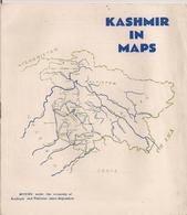 KASHMIR IN MAPS -  PAKISTAN & KASHMIR - JAMMU & KASHMIR STATE - POONCH JAGIR - CARTES DIVERSES - Culture