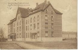 BRASSCHAET BRASSCHAAT-POLYGONE : Pavillon Des Officiers Aviateurs - RARE VARIANTE - Cachet De La Poste 1924 - Brasschaat