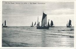CP - Belgique - De Panne - La Panne - Bateaux De Pêche - De Panne