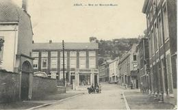 AMAY : Rue Du Mouton Blanc - RARE VARIANTE - Cachet De La Poste 1922 - Amay