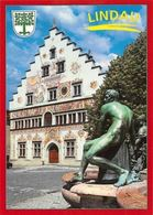 Lindau Im Bodensee Altes Rathaus, Staatsarchiv Stadtbibliothek Statue Town Hall - Germany