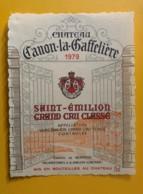 9915b - Château Canon-la-Gaffelière 1979 Saint-Emilion - Bordeaux