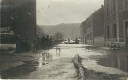 AMAY : Inondations- CARTE PHOTO - RARE VARIANTE - Cachet De La Poste 1920 - Amay