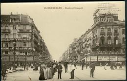 Bruxelles :   Boulevard Anspach - Spoorwegen, Stations
