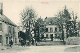 CPA Sissonne Straße, Kommandantur 1. WK 1917 - Sissonne