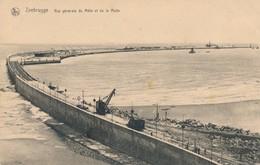 CPA - Belgique - Zeebrugge - Vue Générale Du Môle Et De La Rade - Zeebrugge