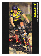 CARTE CYCLISME MICHAEL RASMUSSEN TEAM SCOTT 1996 - Cyclisme