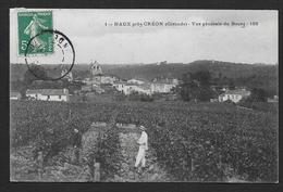 HAUX Près CREON - Vue Générale Du Bourg - Autres Communes