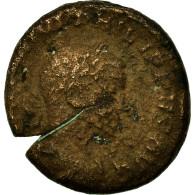 Monnaie, Philippe II, As, Rome, Rare, B+, Cuivre - 5. L'Anarchie Militaire (235 à 284)