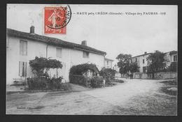 HAUX Près CREON - Village Des Faures - Autres Communes
