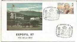 PUERTO DE LA CRUZ TENERIFE 1987 EXPOFIL VI - 1931-Hoy: 2ª República - ... Juan Carlos I