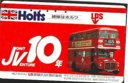 Télécarte Japon ANGLETERRE * ENGLAND * BUS  (321) GREAT BRITAIN Related *  Phonecard Japan * - Paysages