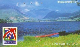 Télécarte Japon ANGLETERRE * ENGLAND *  (317) GREAT BRITAIN Related *  Phonecard Japan * - Paysages