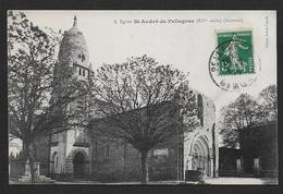 Eglise St André De Pellegrue - Autres Communes