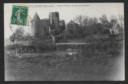 PELLEGRUE - Vieux Château Du Puch De Gensac - Autres Communes