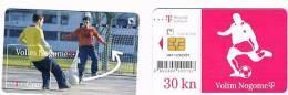 CROAZIA (CROATIA) - CHIP  - T HT 2006   FOOTBALL: VOLIM NOGOMET  - USED - RIF. 6782 - Croazia