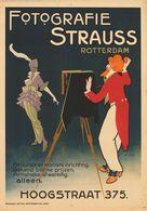 Netherland Postcard Fotografie Strauss Rotterdam 1910s - Reproduction - Pubblicitari