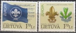 Lietuva 2007 Michel 933 - 934 Neuf ** Cote (2015) 3.00 Euro Europa CEPT Le Scoutisme - Lituanie