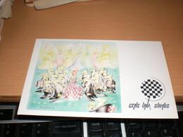 Chess  Gens Una Sumus Cartoon Jovan Prokopljevic - Cartes à Jouer