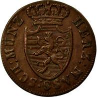 Monnaie, Etats Allemands, NASSAU, Wilhelm, 1/4 Kreuzer, 1819, Wiesbaden, TTB+ - [ 1] …-1871 : Etats Allemands