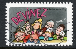 DEVINEZ Timbre Usagee De FRANCE - France
