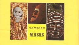 Postcard - Africa, Zambia, National Costume    (V 33837) - Sambia