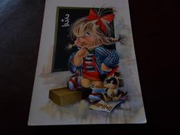 B716  Illustrazione Bambini Non Viaggiata - Bambini