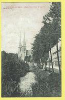 * Oostakker - Oostacker (Gent - Gand) *  (Editeur Albert Sugg, Série 26, Nr 9) église Notre Dame De Lourdes, Canal, Rare - Gent
