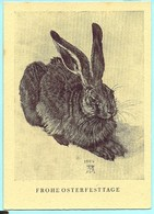 Frohe Ostertage Hase Albrecht Dürer - Sonstige