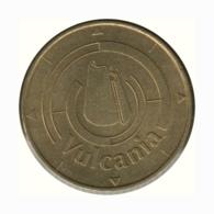 63001 - MEDAILLE TOURISTIQUE MONNAIE DE PARIS 63 - Vulcania Logo - 2002 - RARE - Monnaie De Paris