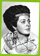 GWYNETH JONES  AUTOGRAPH / AUTOGRAMM  Photo 13/18 Cm   *Soprano / Opera* - Autographes