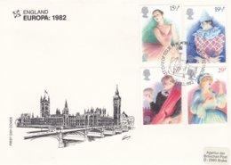 Great Britain 1982 FDC Europa CEPT (G48-16) - 1982
