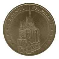Monnaie De Paris , 2009 , Paris ,Sainte-Chapelle , Face Cerclée , Revers EVM - Monnaie De Paris